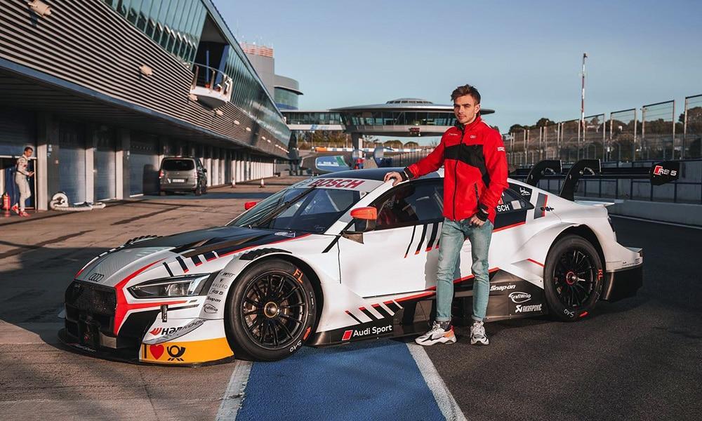 Robin Rogalski DTM i Audi RS5 2019