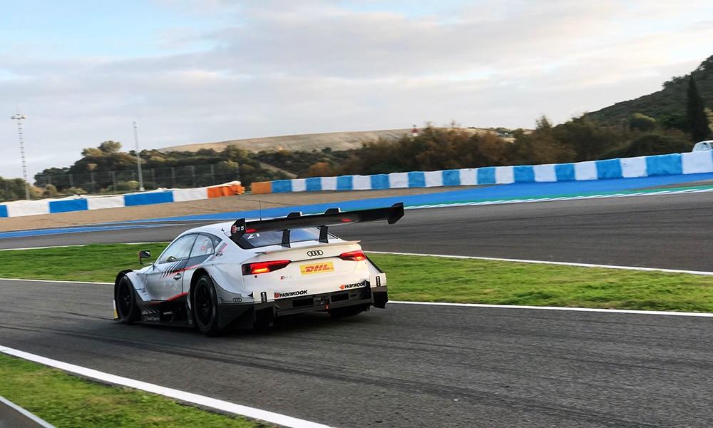 Robin Rogalski test DTM 2019 Audi RS5