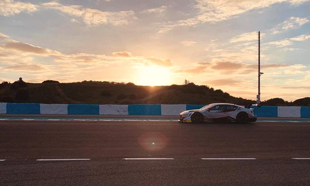 Robin Rogalski w akcji test DTM 2019 Audi RS5