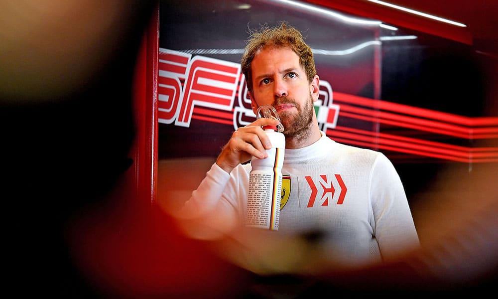 Sebastian Vettel 2019 Ferrari Testy Pirelli