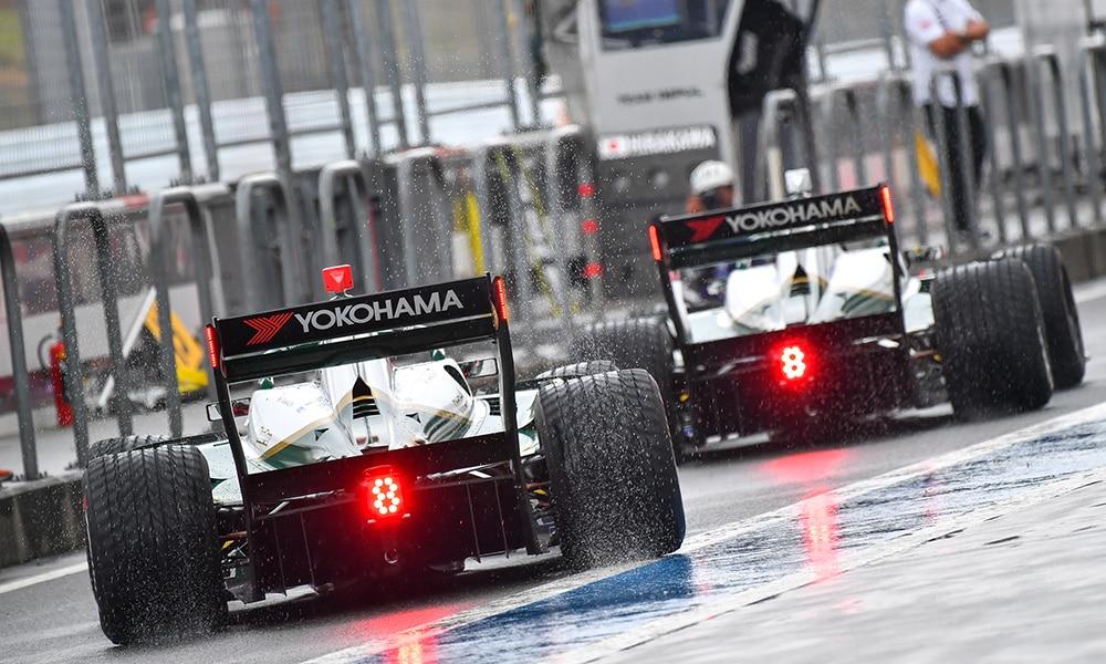 Super Formula 2019 Fuji pit lane