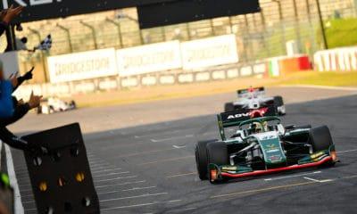 Super Formula 2019 Nick Cassidy Champion