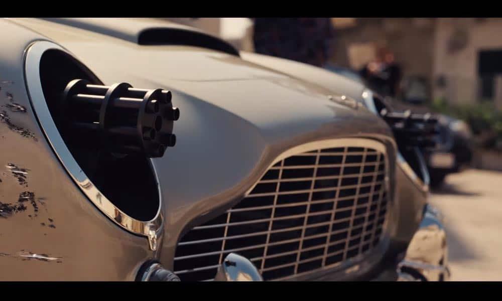 Aston Martin DB5 - Nie czas umierać (2020)
