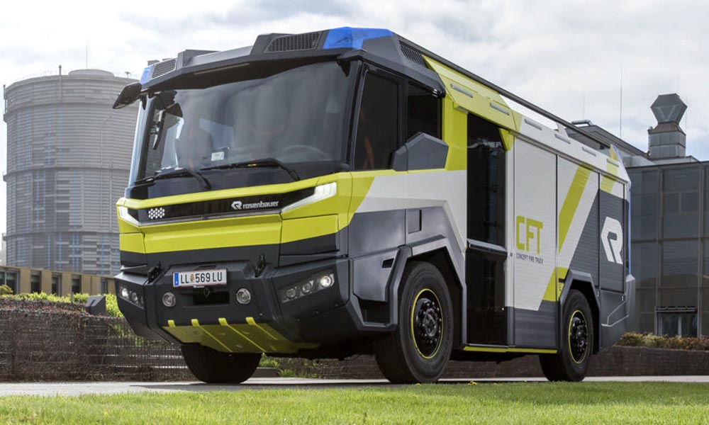 Rosenbauer CFT - elektryczny wóz strażacki