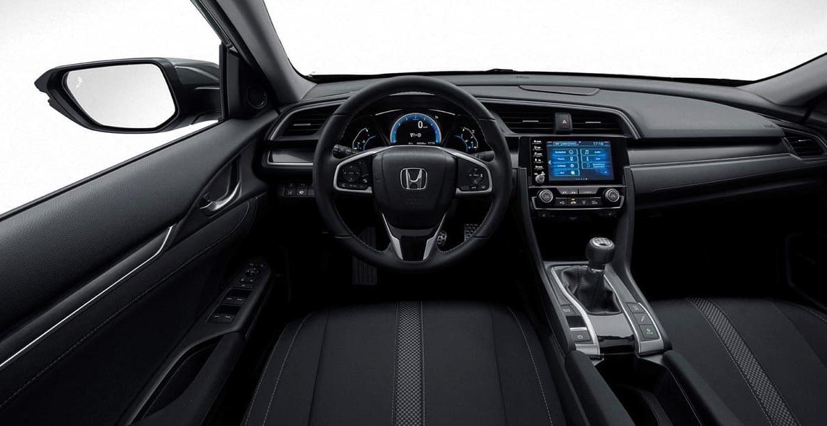 Honda Civic 2020 - wnętrze