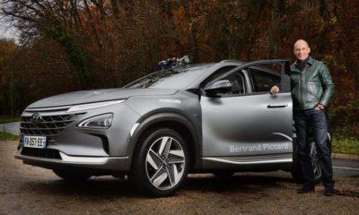 Bertrand Piccard Hyundai Nexo