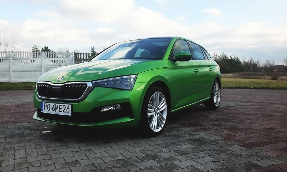 Škoda Scala przód