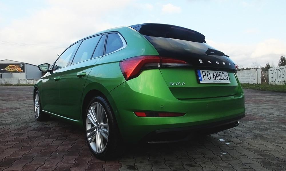 Škoda Scala tył 2