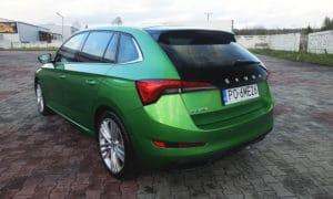 Škoda Scala tył