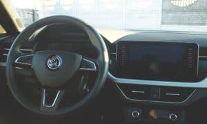 Škoda Scala wnętrze 1