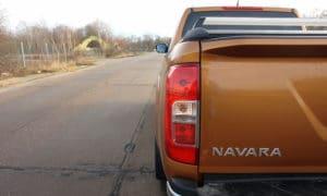 Nissan Navara tylna lampa