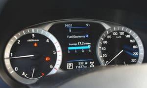 Nissan Navara zegary