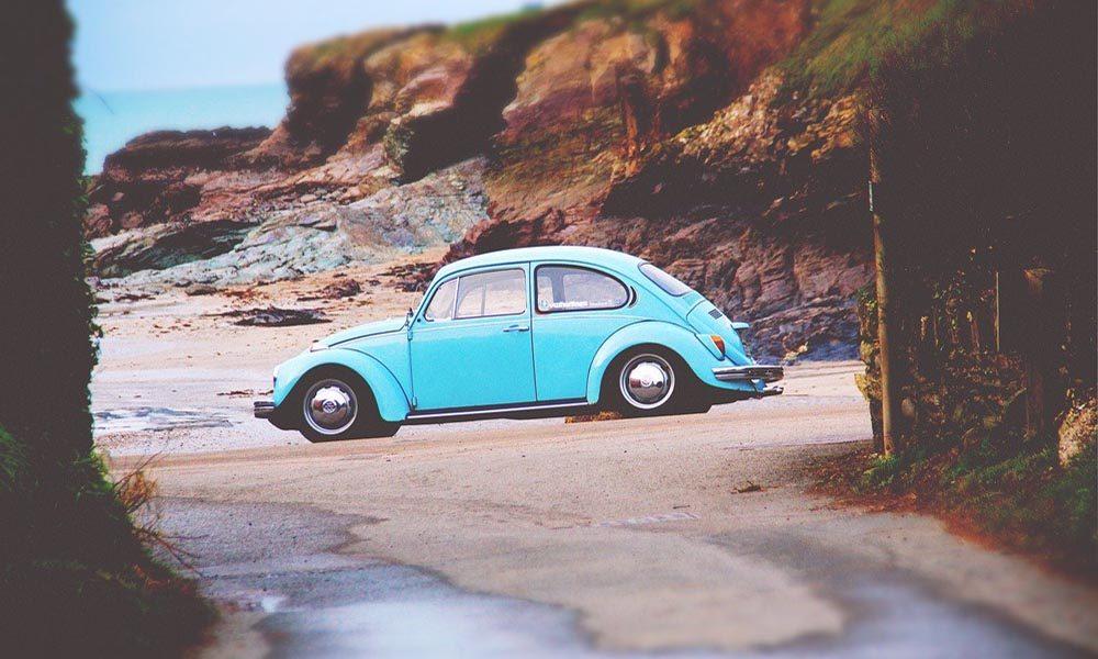 VW Beetle plaża