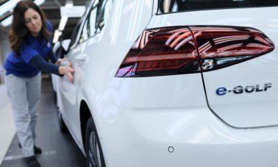 VW e-Golf produkcja