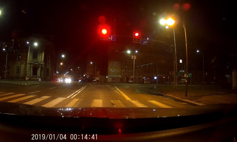 CarForce A500 noc nagranie