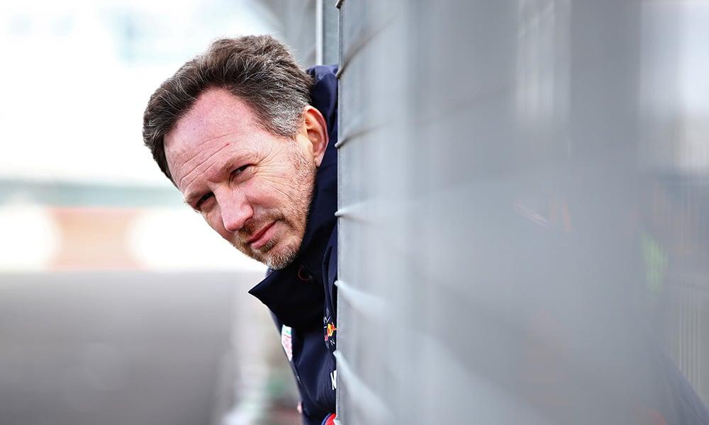 szef Red Bulla Christian Horner 2020 Red Bull