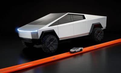 Cybertruck Tesla Hot Wheels 2020