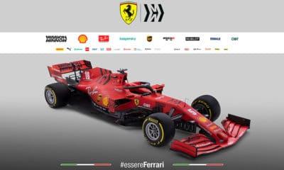 Scuderia Ferrari SF1000 bolid przód