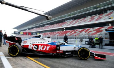 George Russell WIlliams FW43 Barcelona