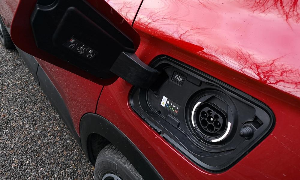 Hybrid4 Opel bak