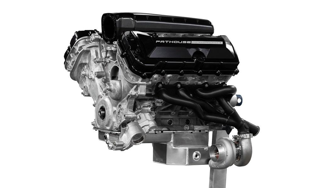 Mustang Shelby GT350 1000R - silnik