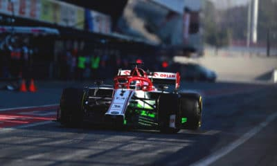 Kimi Raikkonen drugi dzień Barcelona testy 2020