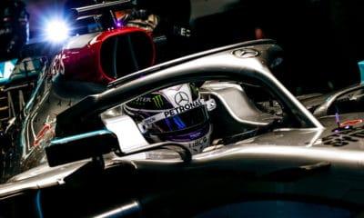 Lewis Hamilton Mercedes W11 Barcelona 2020
