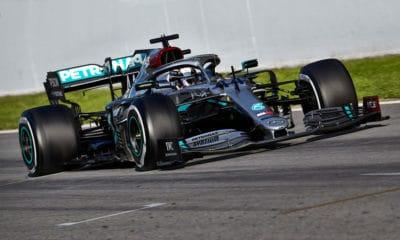 Lewis Hamilton testy f1 2020 Barcelona Mercedes pierwszy dzień