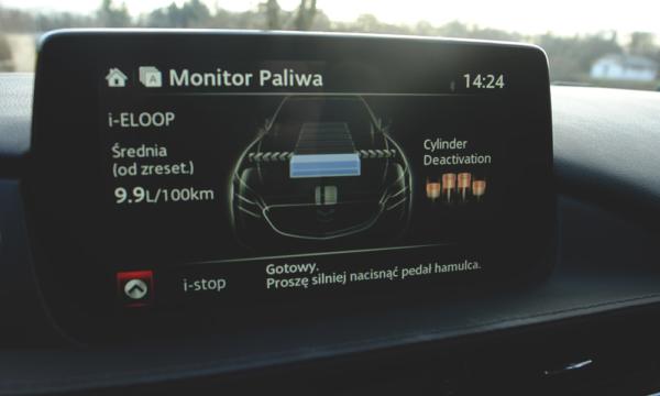 Mazda 6 Kombi SkyDREAM monitor paliwa