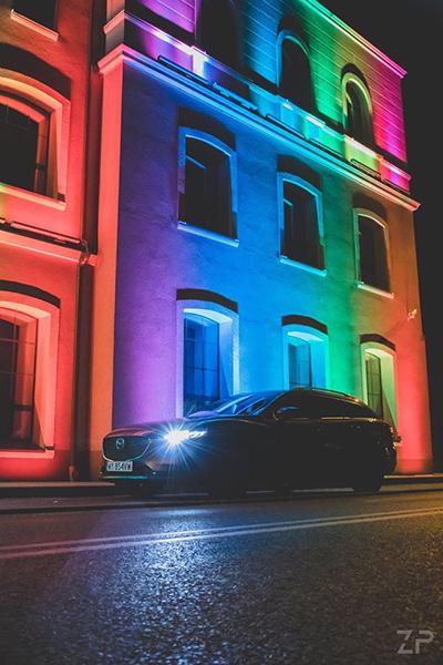 Mazda 6 Kombi Zieliński Photo 2020 plener nocny