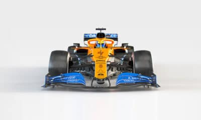 McLaren MCL35 profil