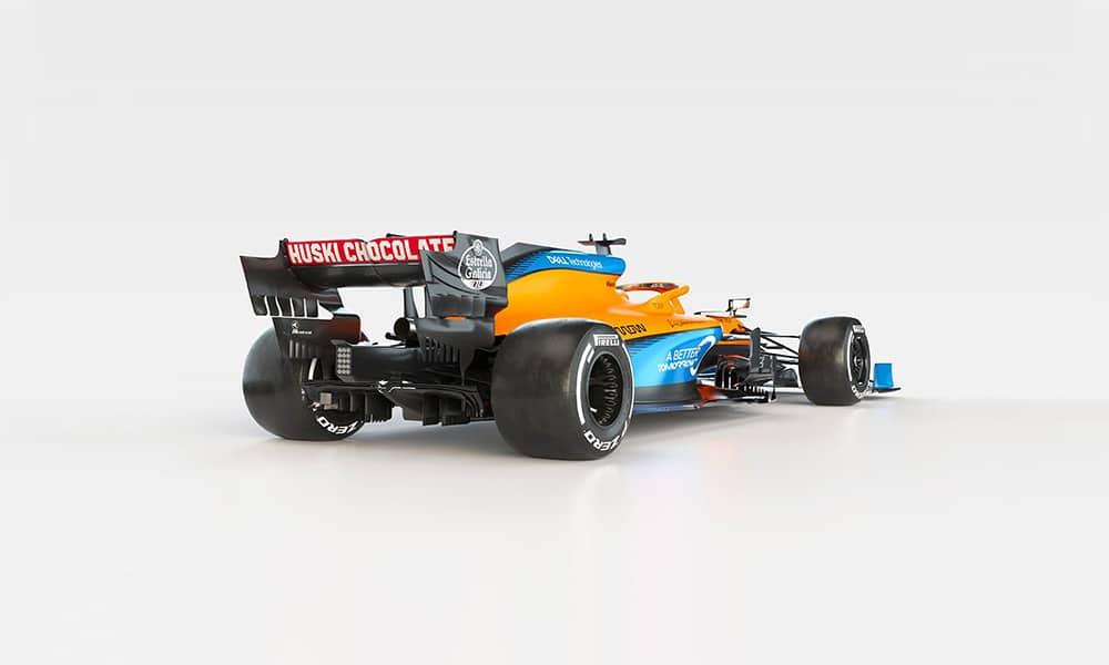 McLaren MCL35 tył