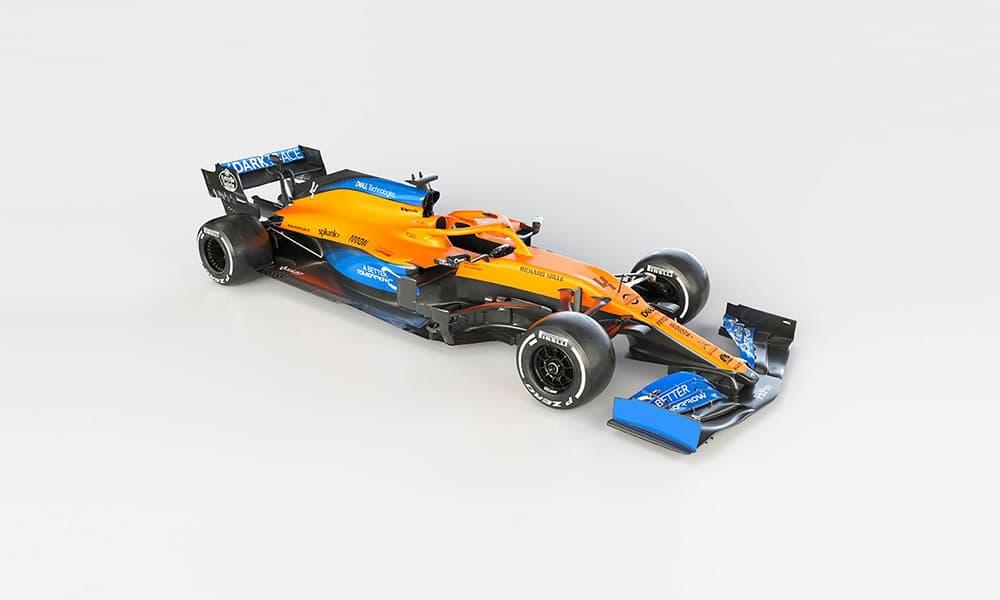 McLaren MCL35 zrzut