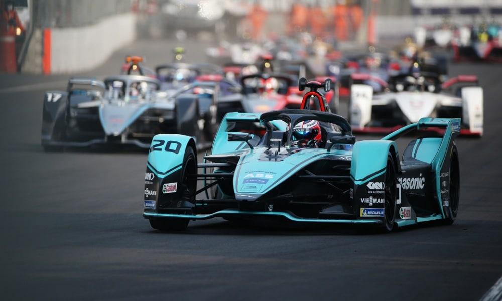 Mitch Evans Jaguar Racing ePrix Mexico City 2020