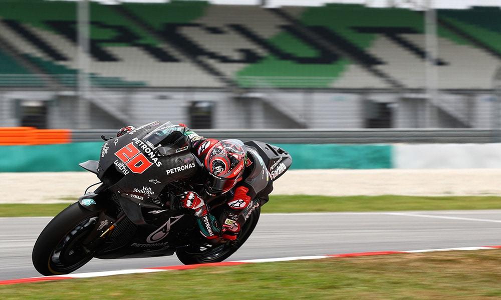 MotoGP testy Sepang 2020 Fabio Quartararo Yamaha Petronas SRT