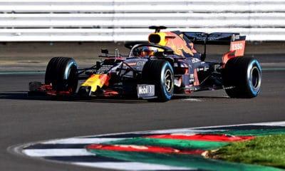 Red Bull RB16 Verstappen shakedown 2020