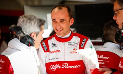 Robert Kubica Alfa Romeo Racing Orlen Barcelona 2020