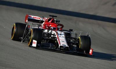 Robert Kubica Alfa Romeo Racing Orlen C39 Barcelona 2020 druga tura