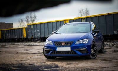 Seat Leon ST Cupra profil