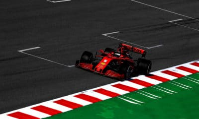 Sebastian Vettel SF1000 Ferrari druga tura testów