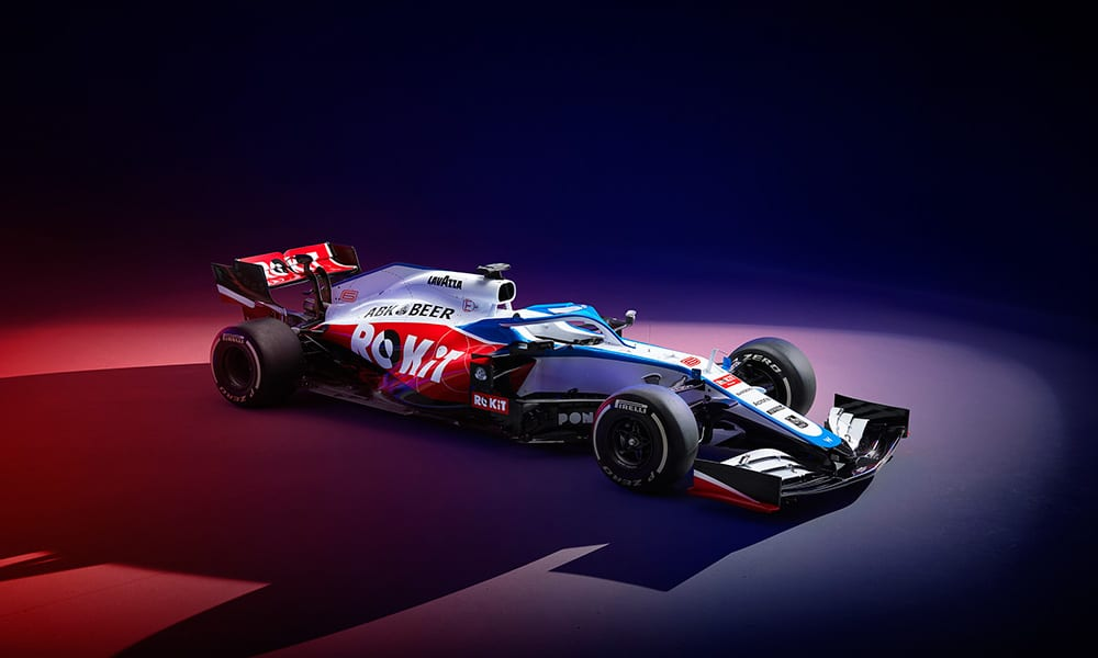Williams FW43 render 1