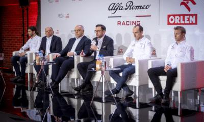 Konferencja Alfa Romeo Racing Orlen