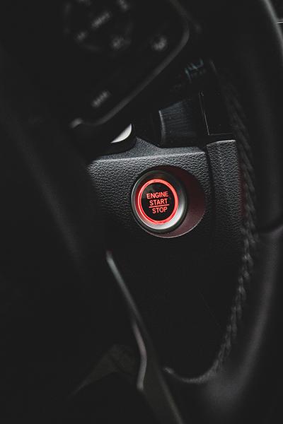 Civic Honda przycisk zapłon