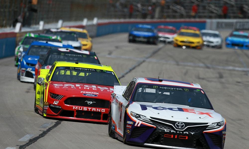 Denny Hamlin NASCAR 2019