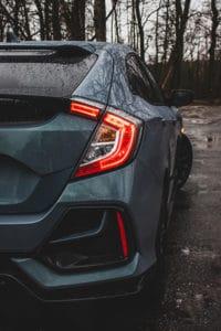 Honda Civic tył 1
