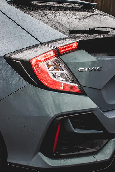 Honda Civic tył 2