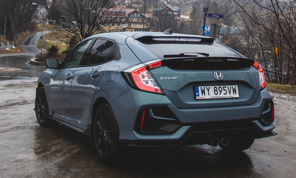 Honda Civic tył 4