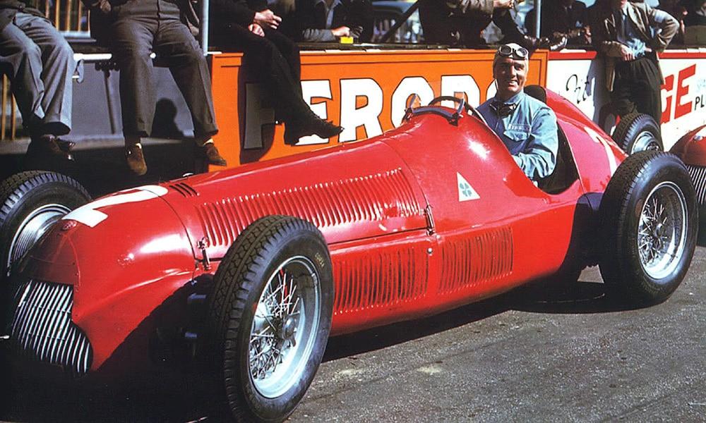 Nino Farina 1950 champion historia F1 najkrótsze sezony