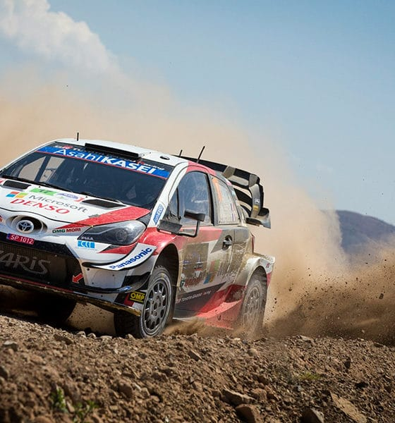 Ogier Sebastien Toyota Yaris WRC 2020 Rajd Meksyku
