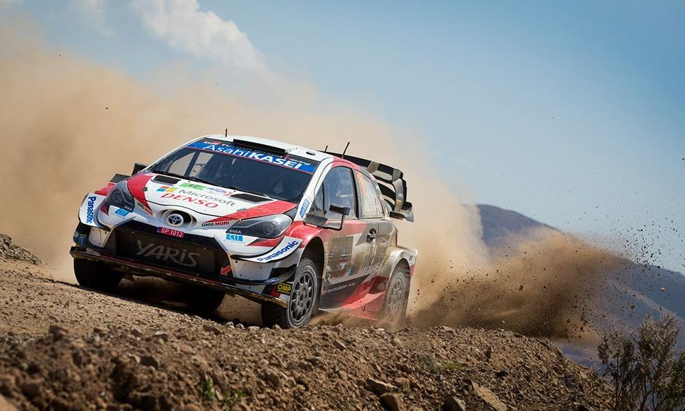 Ogier Sebastien Toyota Yaris WRC 2020 Rajd Meksyku kalendarz wrc